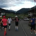 Auf den ersten Kilometern