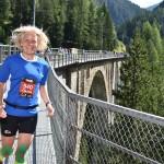 Claudia am Wiesener Viadukt