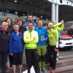 Treffen mit den Läufern der TG Schwanheim