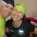 Dies ist der 14. Start von Iris beim Frankfurt Marathon