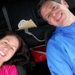 Ein kurzes Nickerchen im Auto: Kurz vor dem Start