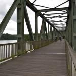 Über diese Brücke musst du gehn - um zum VP zu gelangen