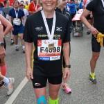 Hamburg Marathon: im Ziel